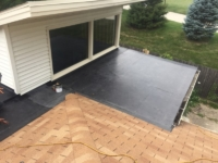 Wisconsin Roofing LLC | Flat Decks | Residential | Side View