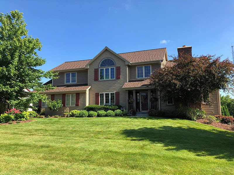 Wisconsin Roofing LLC | Residential | Menomonee Falls | CertainTeed Landmark Pro Heather Blend