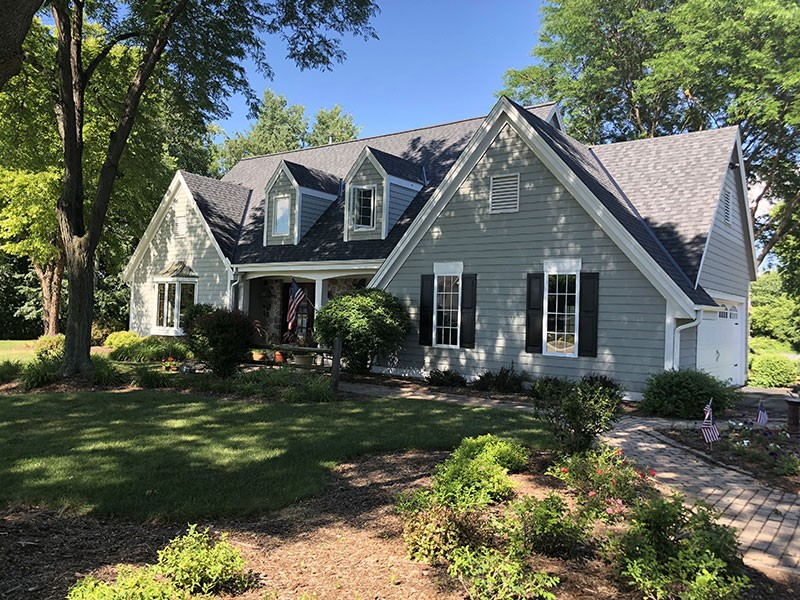 Wisconsin Roofing LLC | Residential | Pewaukee | CertainTeed Landmark PRO Moire Black