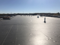 Wisconsin Roofing LLC | Madison | Commercial Roofs | EPDM Rubber Roof with ISO Tapered