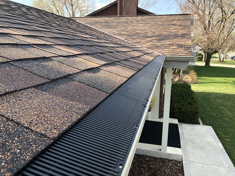 Wisconsin Roofing LLC | Residential | Fredonia | RAINDROP Guttter Guards