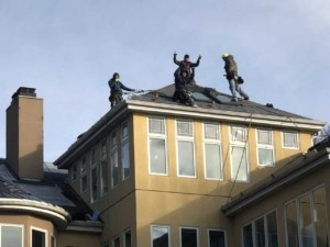 Wisconsin Roofers at Work - Wisconsin Roofing, LLC