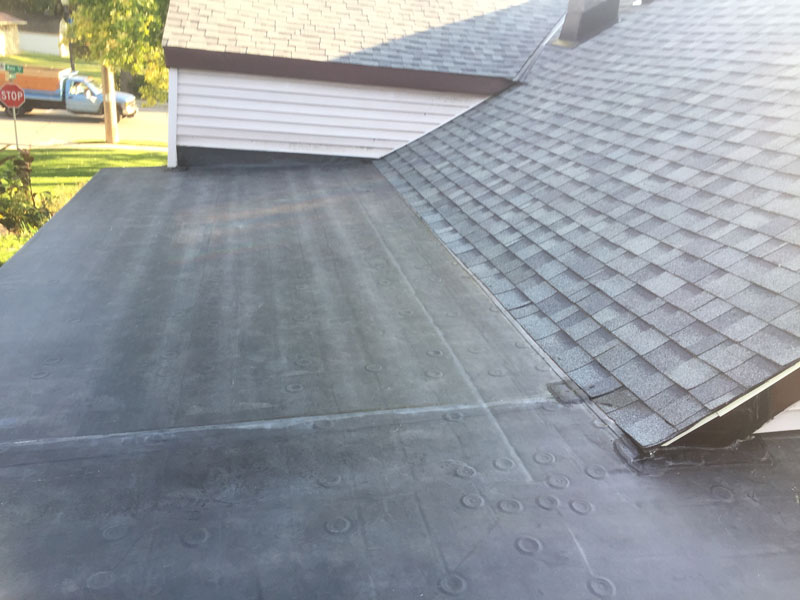 Wisconsin Roofing LLC | Flat Decks | Residential | Roof Line