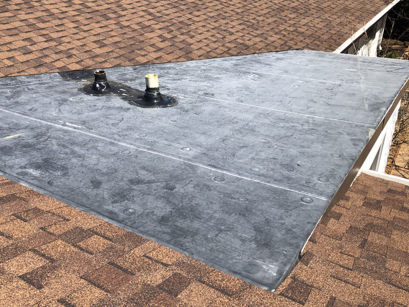 Wisconsin Roofing LLC | Flat Decks | Residential | Repair