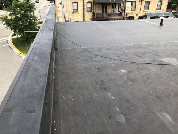 Wisconsin Roofing LLC | Case Study | Hugh Lomas | After Side Wall