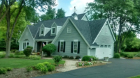 Wisconsin Roofing LLC | Black| Residential | House View