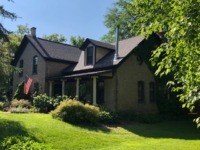 Wisconsin Roofing LLC | Hartford | Residential | Designer Summer Harvest | Old farmhouse 1900's with designer shingles very old style framing fixed