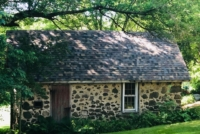 Wisconsin Roofing LLC | Hartford | Residential | Designer Summer Harvest | Old farmhouse 1900's with designer shingles Very old style framing fixed back area