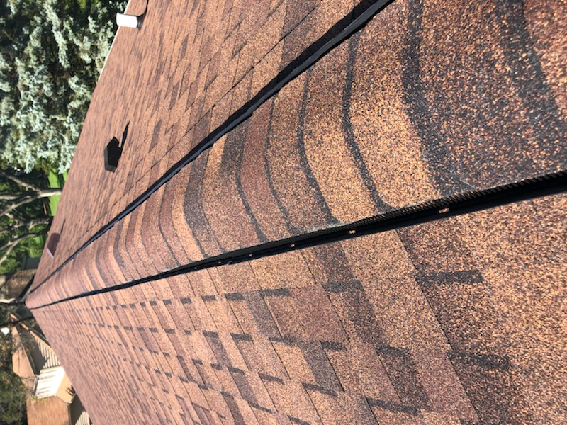 Wisconsin Roofing LLC | Brookfield | Upgraded Ventilation Unblocked Soffit Vents | Baffled Intake Chutes | CertainTeed Landmark Burnt Sienna Shingles | Top