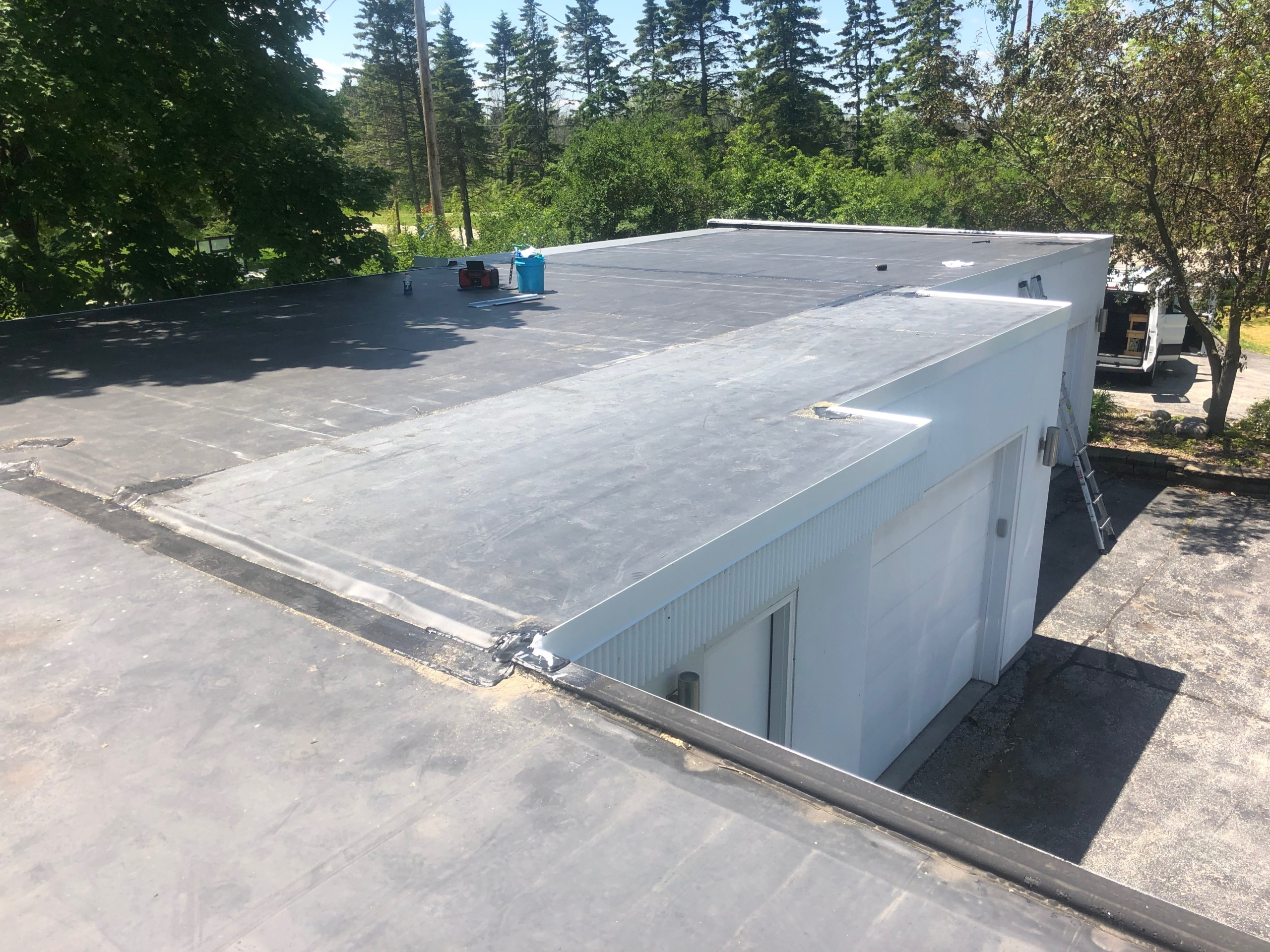 Wisconsin Roofing LLC | Commercial | Flat Deck | Complete | Mequon