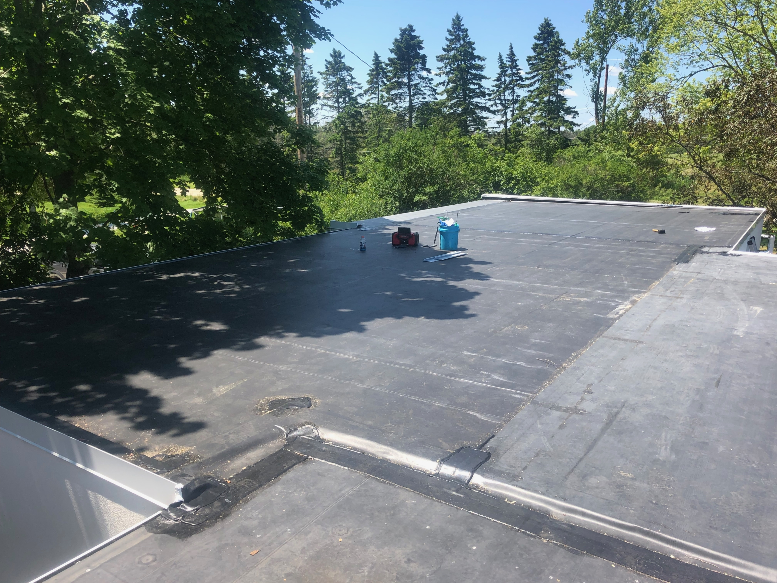Wisconsin Roofing LLC | Commercial | Flat Deck | Mequon