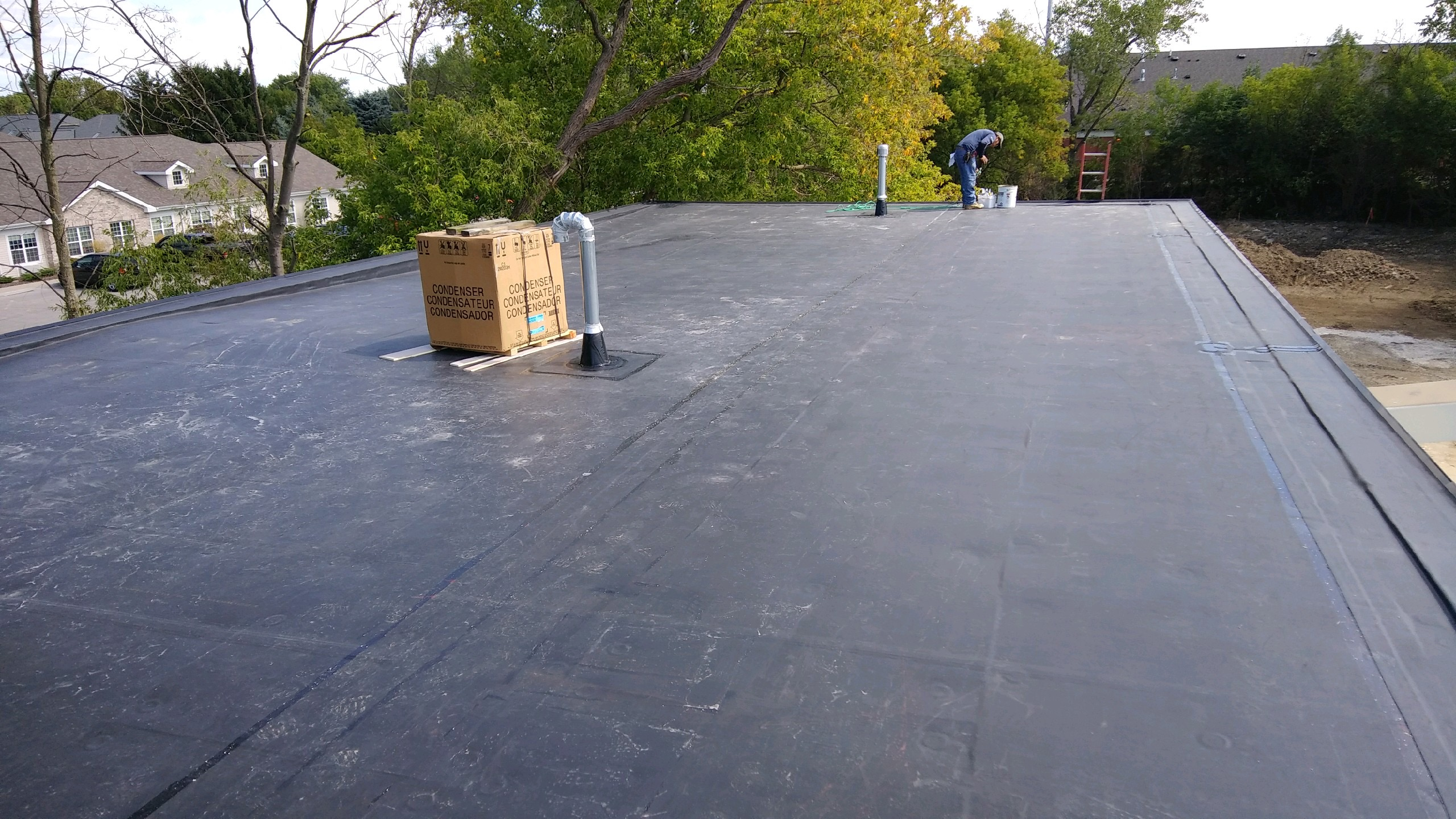 Wisconsin Roofing LLC | Commercial | Flat Roof | Complete | Occonomowoc