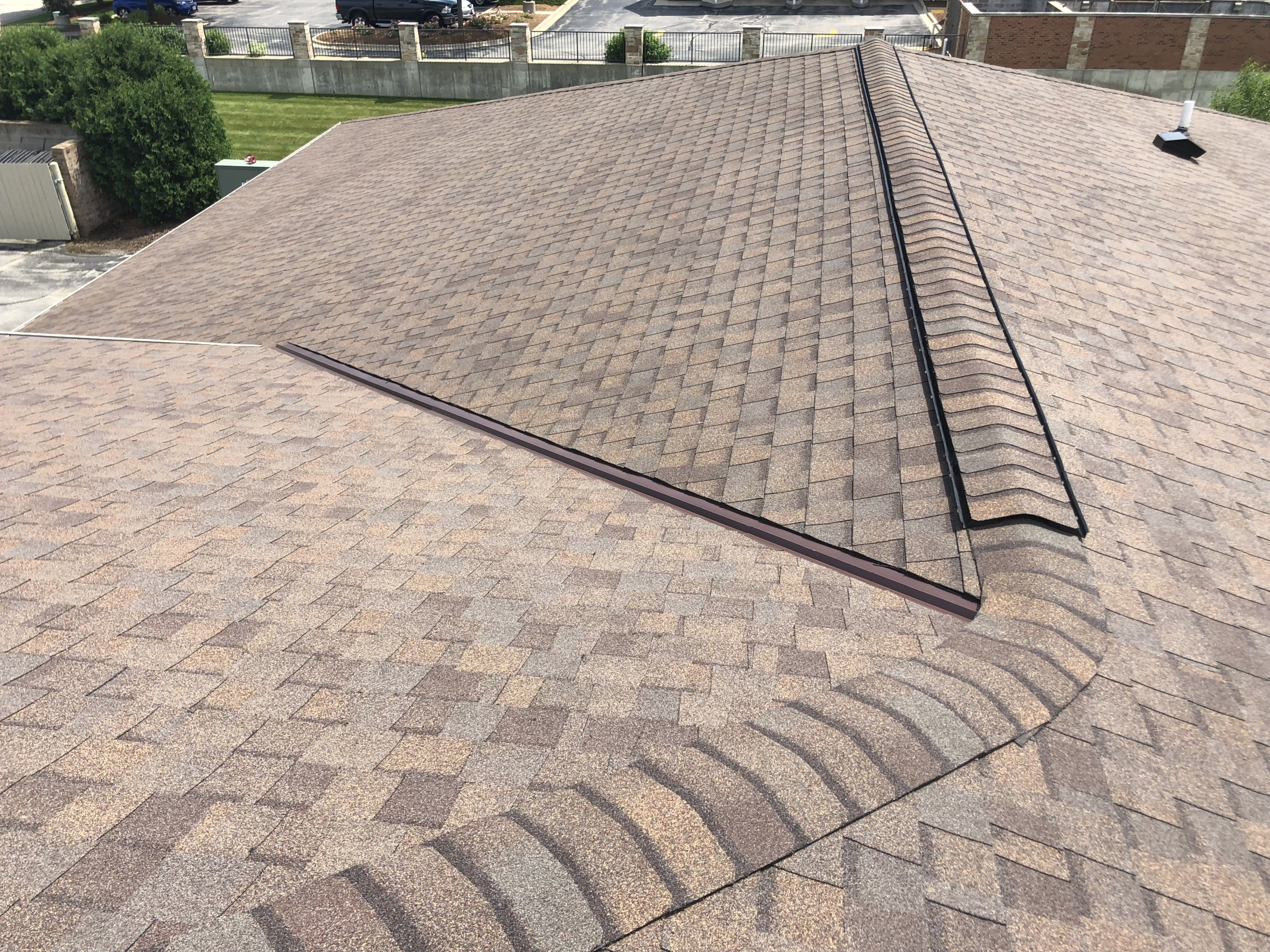Wisconsin Roofing LLC | Commercial | Shingle Roof Ridge | Hartland