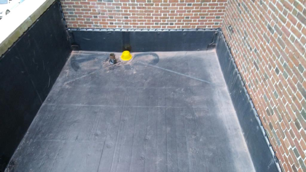Wisconsin Roofing LLC | Flat Deck | Drain Area | Milwaukee