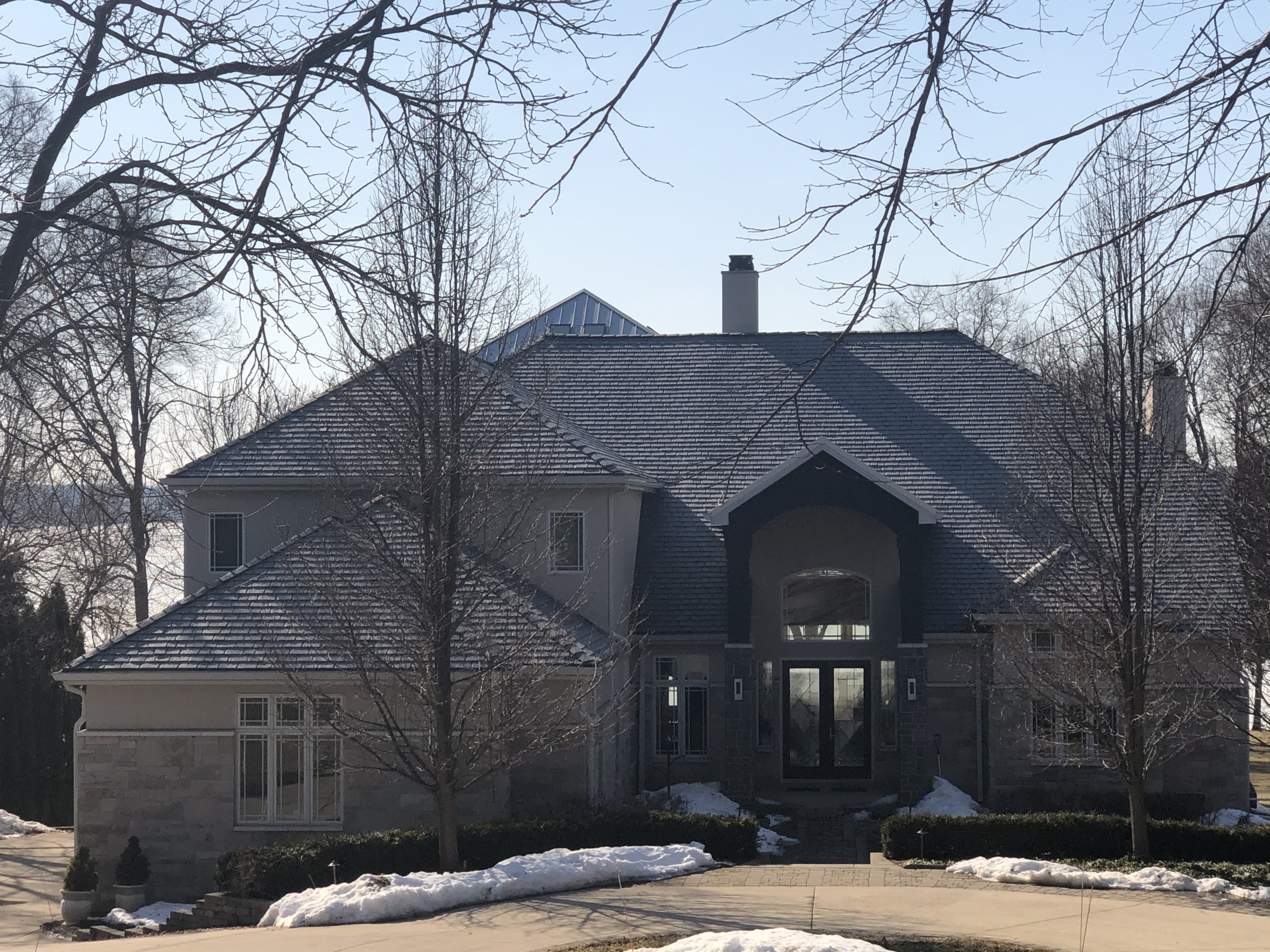 Wisconsin Roofing LLC | Residential | Mequon | New Certainteed Landmark Pro Moore Black Shingles