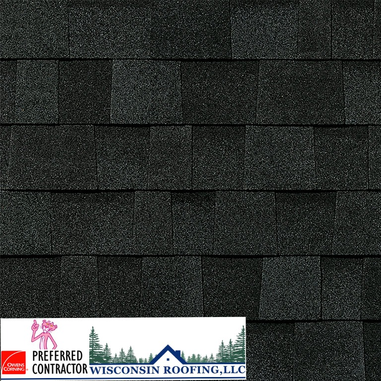 Wisconsin Roofing LLC | Owens Corning | Duration | Onyx Black