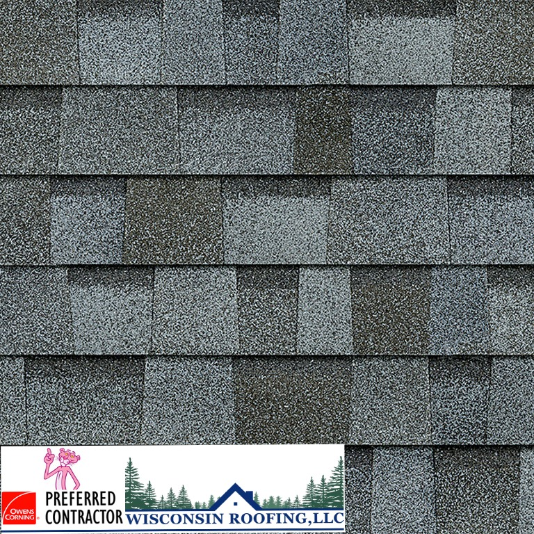 Wisconsin Roofing LLC | Owens Corning | Duration | Quarry Gray