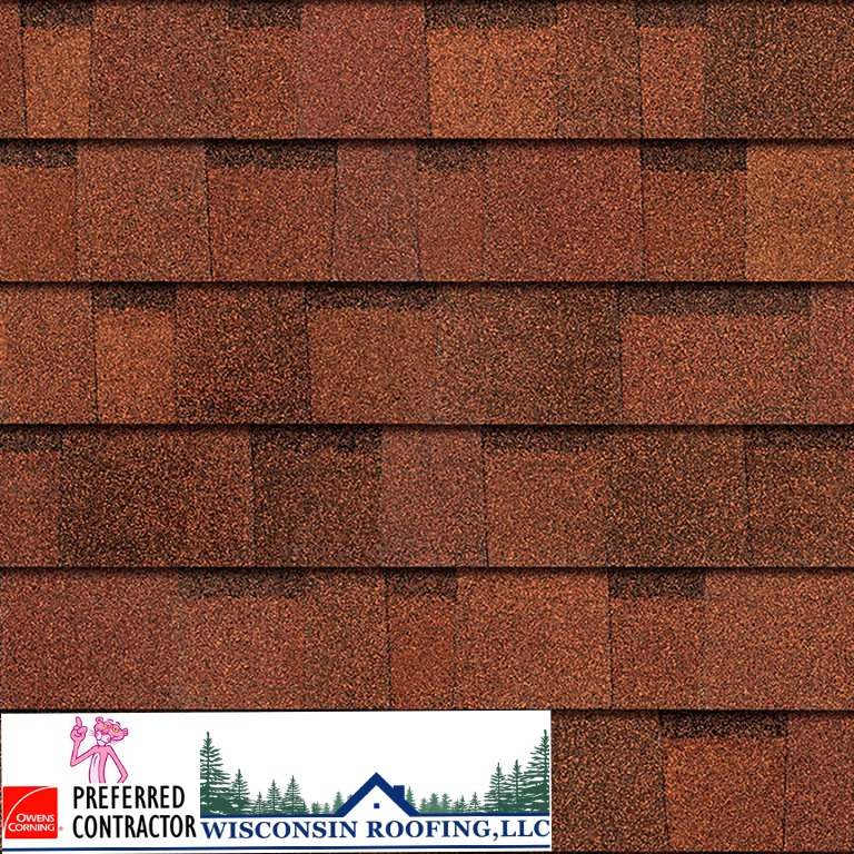 Wisconsin Roofing LLC | Owens Corning | Duration | Terra Cotta