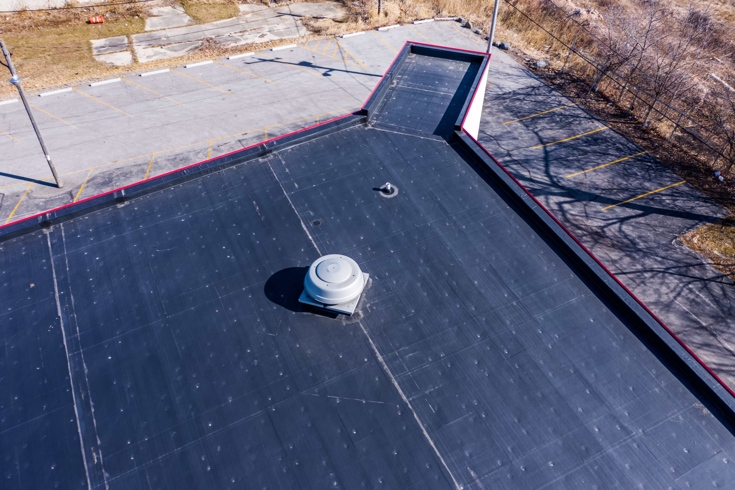 Wisconsin Roofing LLC | Drone | Commercial | Bump Out