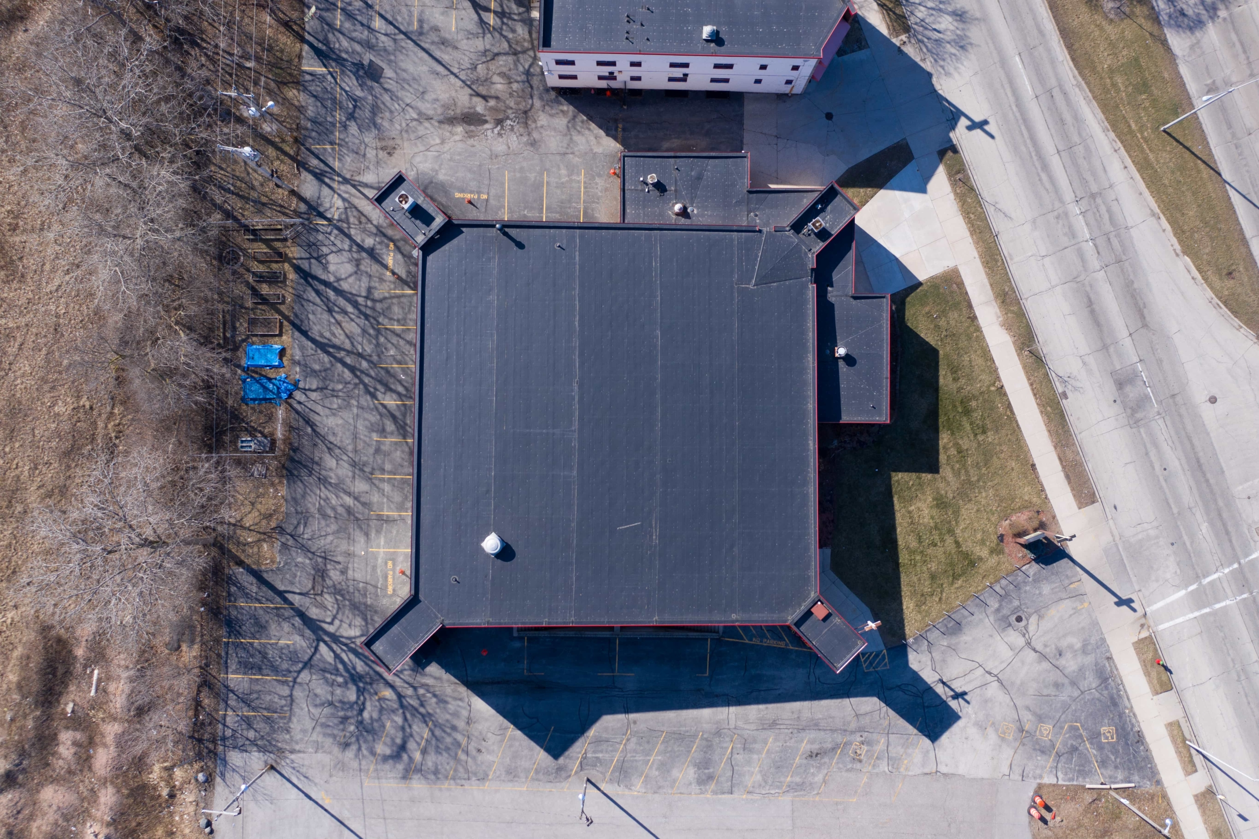 Wisconsin Roofing LLC | Drone | Commercial | Top