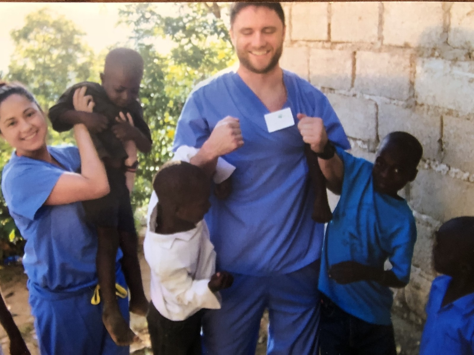 Jim Brown from Wisconsin Roofing, LLC Volunteering in Haiti