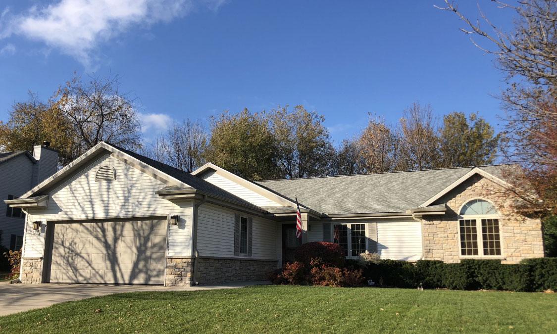 Wisconsin Roofing LLC | Germantown | Residential | CertainTeed Landmark Cobblestone Grey