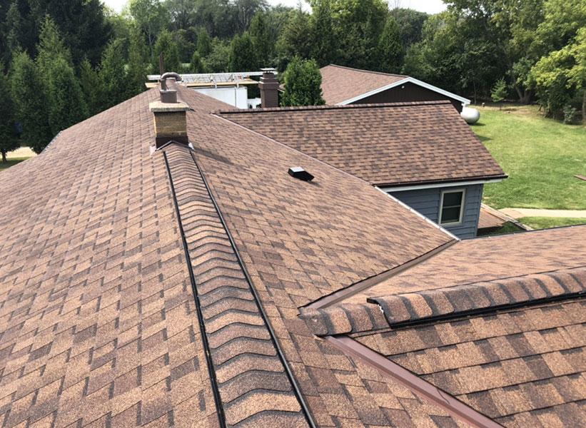 Wisconsin Roofing LLC | Residential | Saukville | CertainTeed Landmark Burnt Sienna