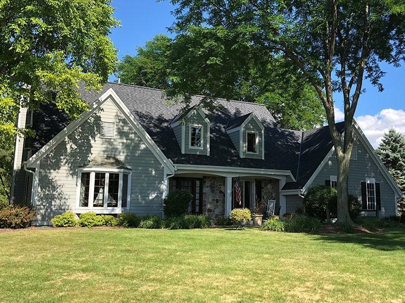 Wisconsin Roofing LLC | Residential | Pewaukee | CertainTeed Landmark Pro Moire Black
