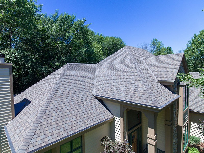 Wisconsin Roofing LLC | Drone | Residential | New Berlin | Certainteed PRO | Raindrop Gutter Guards