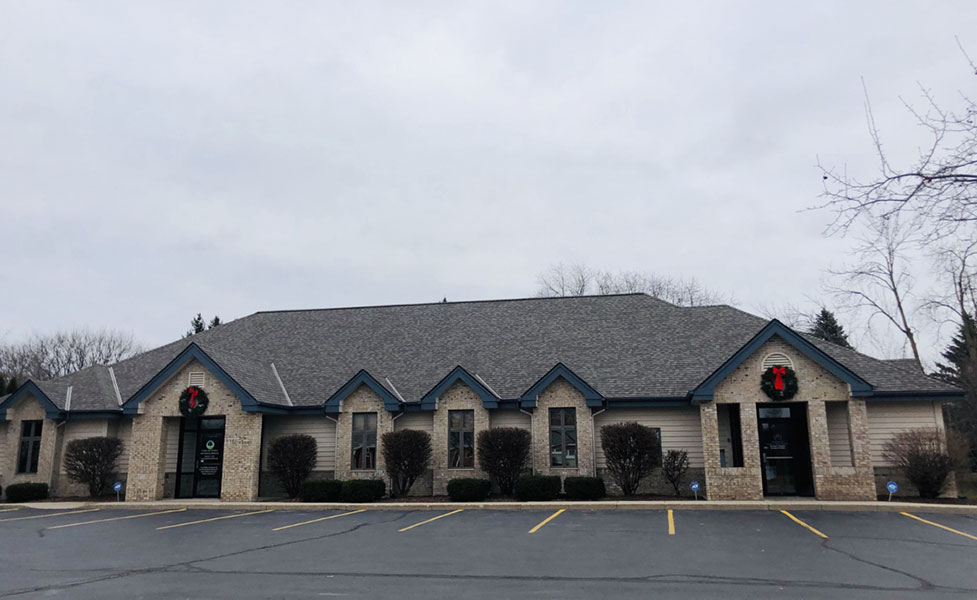 Wisconsin Roofing LLC | Slinger | Commercial Roofs | CertainTeed Landmark PRO | Weathered Wood Front