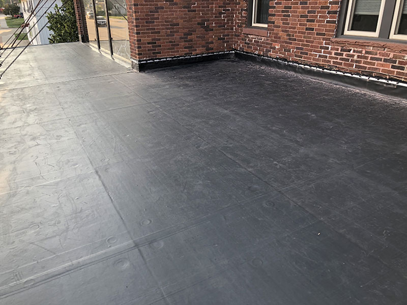 Wisconsin Roofing LLC | Chilton | Commercial Roofs | EPDM Rubber Roof | After