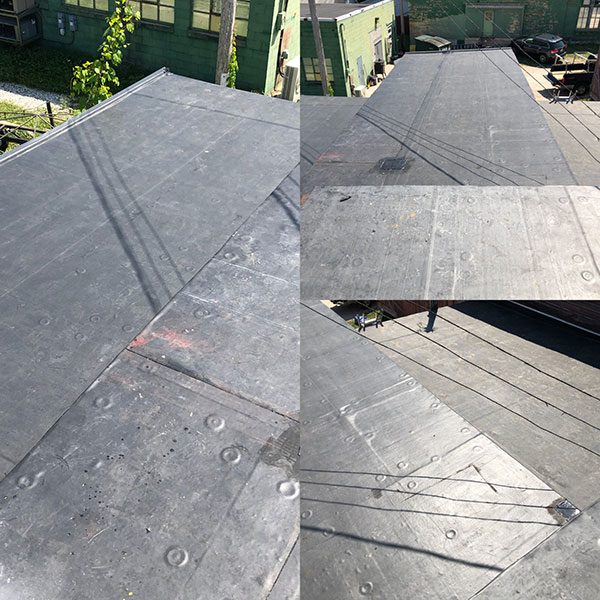 Wisconsin Roofing LLC | Case Study | Hugh Lomas | Low Slop Roof | After Repair Work Ridge Top