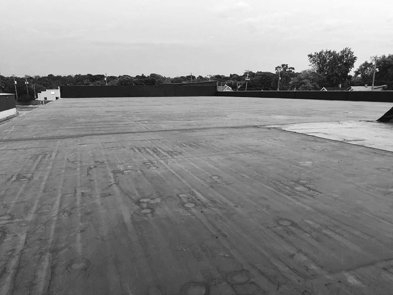 Wisconsin Roofing LLC   Waukesha   Commercial Roofs   EPDM Rubber Roof   Industrial   Side