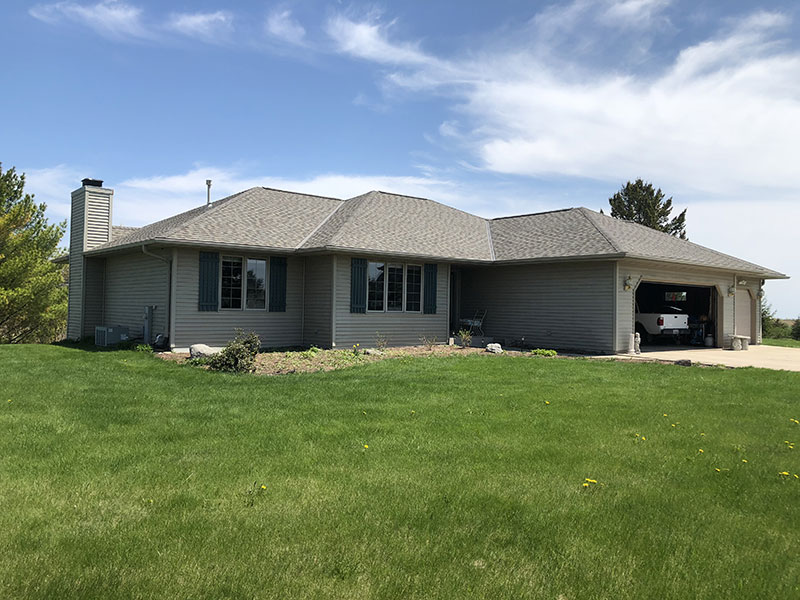 Wisconsin Roofing LLC | Residential | Cedar Grove | Landmark Pro Weathered Wood