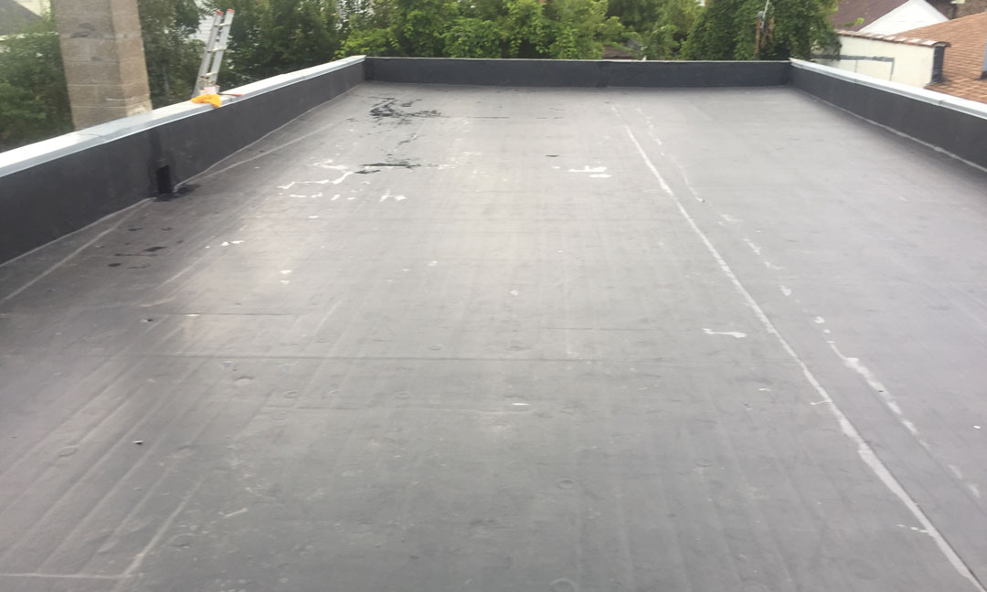Wisconsin Roofing LLC | Milwaukee | Commercial Roofs | EPDM Rubber Roof | Side