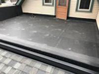 Wisconsin Roofing LLC | Flat Decks | Residential | Entry Door