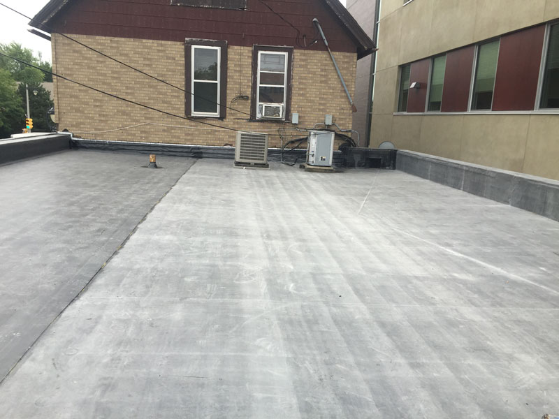 Wisconsin Roofing LLC | Flat Decks | Residential | Air Units