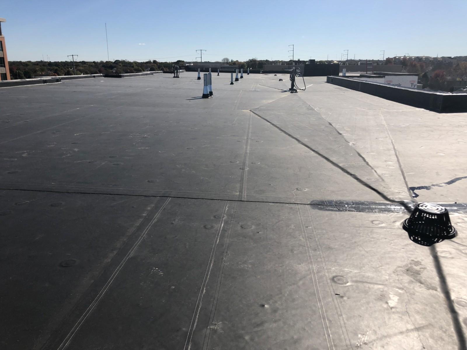 Wisconsin Roofing LLC | Menomonee Falls | Commercial Roofs | Topview