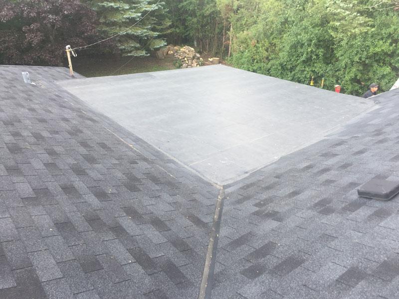 Wisconsin Roofing LLC | Flat Decks | Residential | Landing