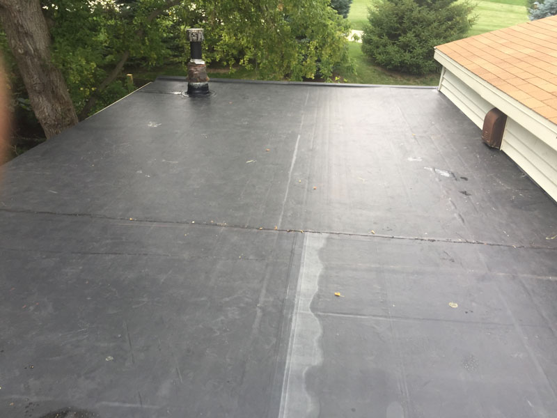 Wisconsin Roofing LLC | Flat Decks | Residential | Chimney
