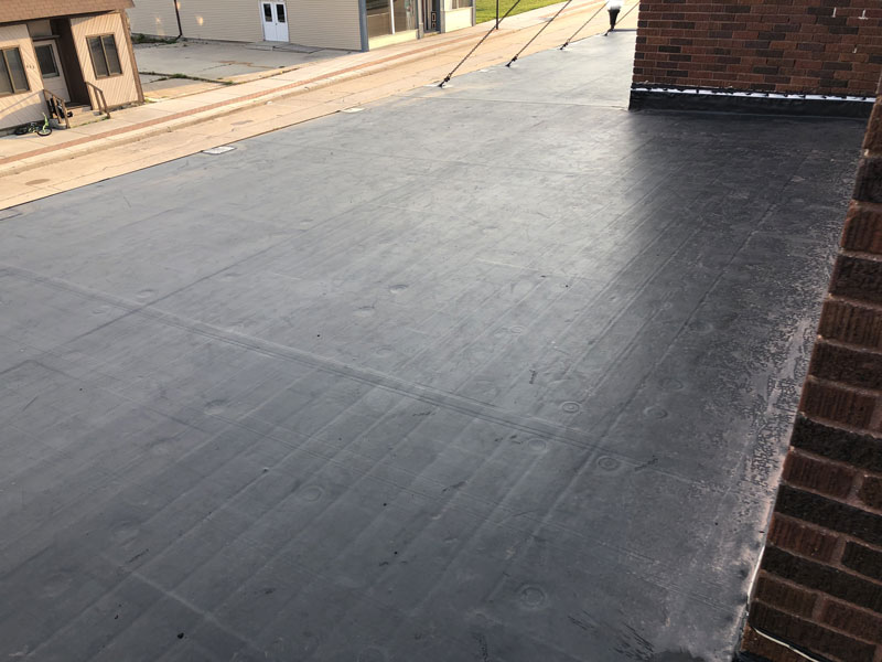 Wisconsin Roofing LLC   Flat Decks   Residential   Top View