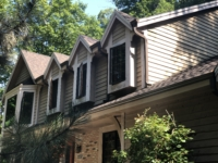 Wisconsin Roofing LLC | Brookfield | Upgraded CertainTeed Landmark PRO Shingles | Burnt Sienna | New gutters | New RAINDROP Leaf Protection | Extensive Landscaping