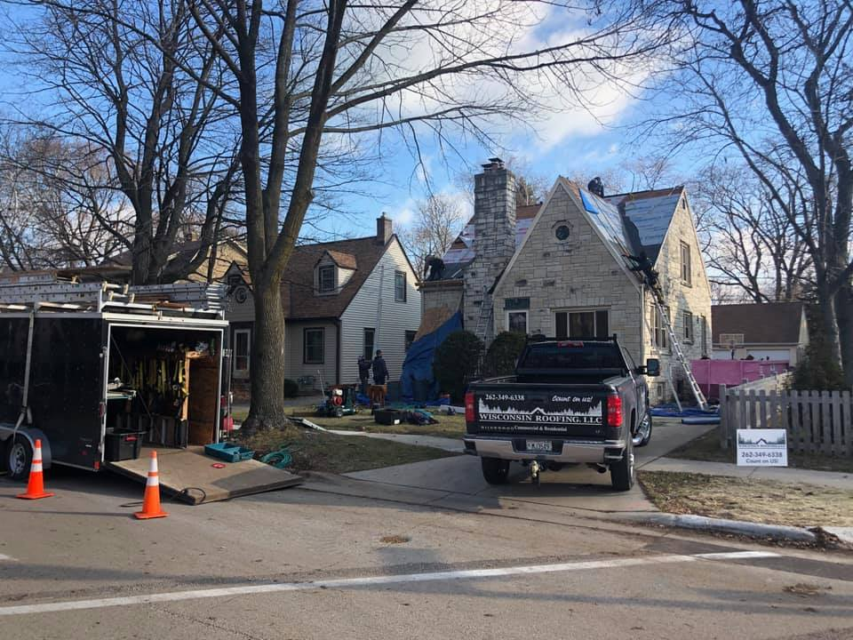Wisconsin Roofing LLC   New Roof   Residential   Whitefish Bay