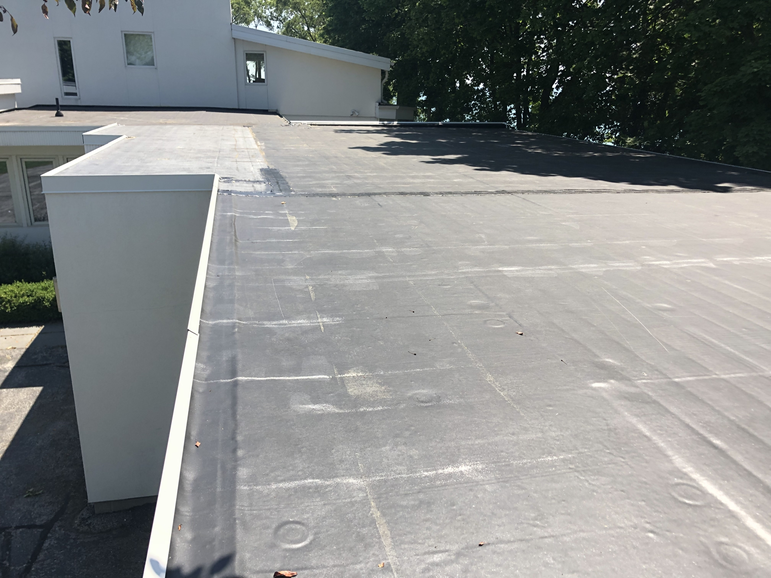 Wisconsin Roofing LLC | Commercial | Flat Deck | Side | Mequon