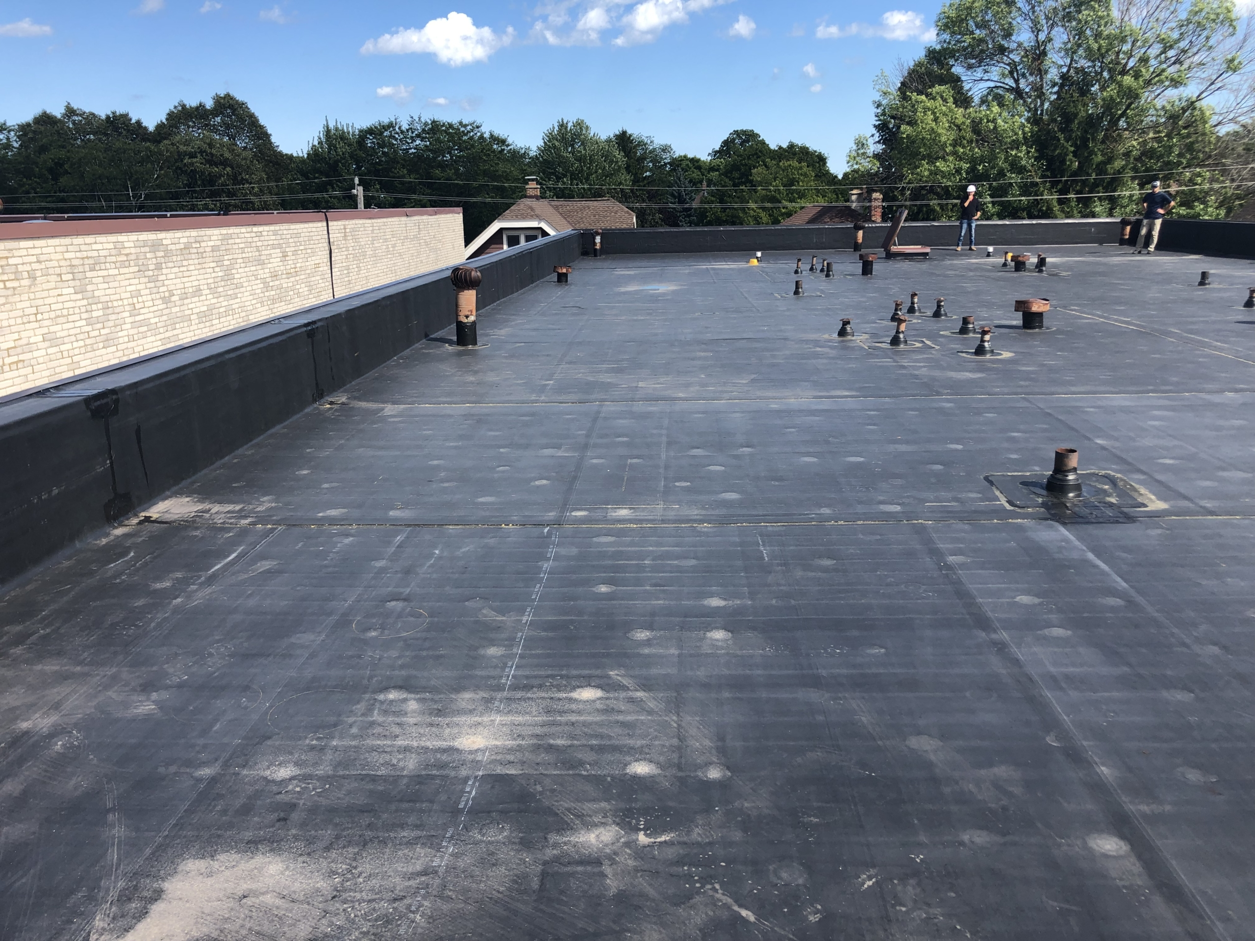 Wisconsin Roofing LLC | Commercial | Flat Roof | Complete | Milwaukee