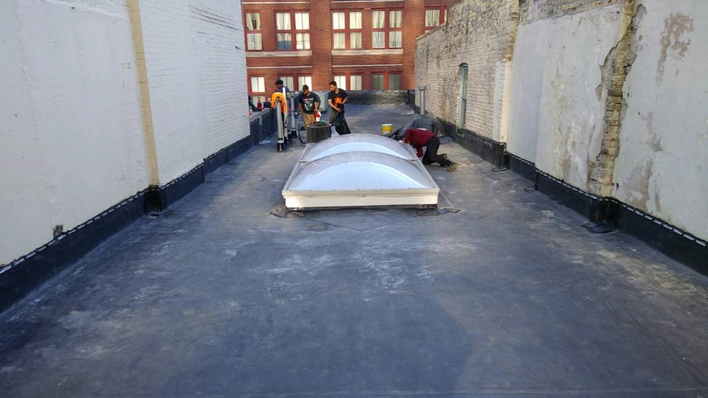 Wisconsin Roofing LLC | Commercial | Flat Roof | Inprogress