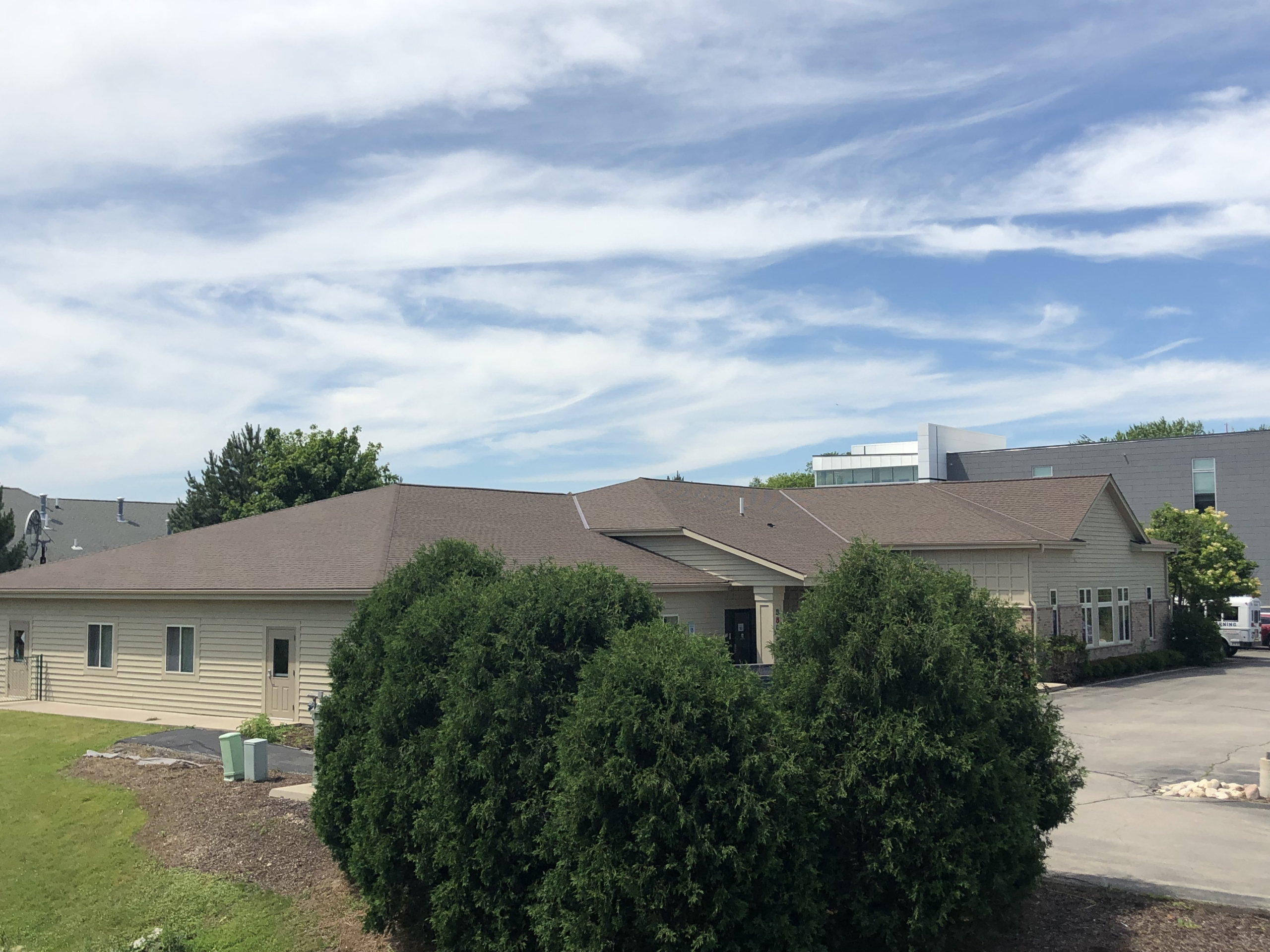 Wisconsin Roofing LLC | Commercial | Shingle Roof | Complete Side | Hartland