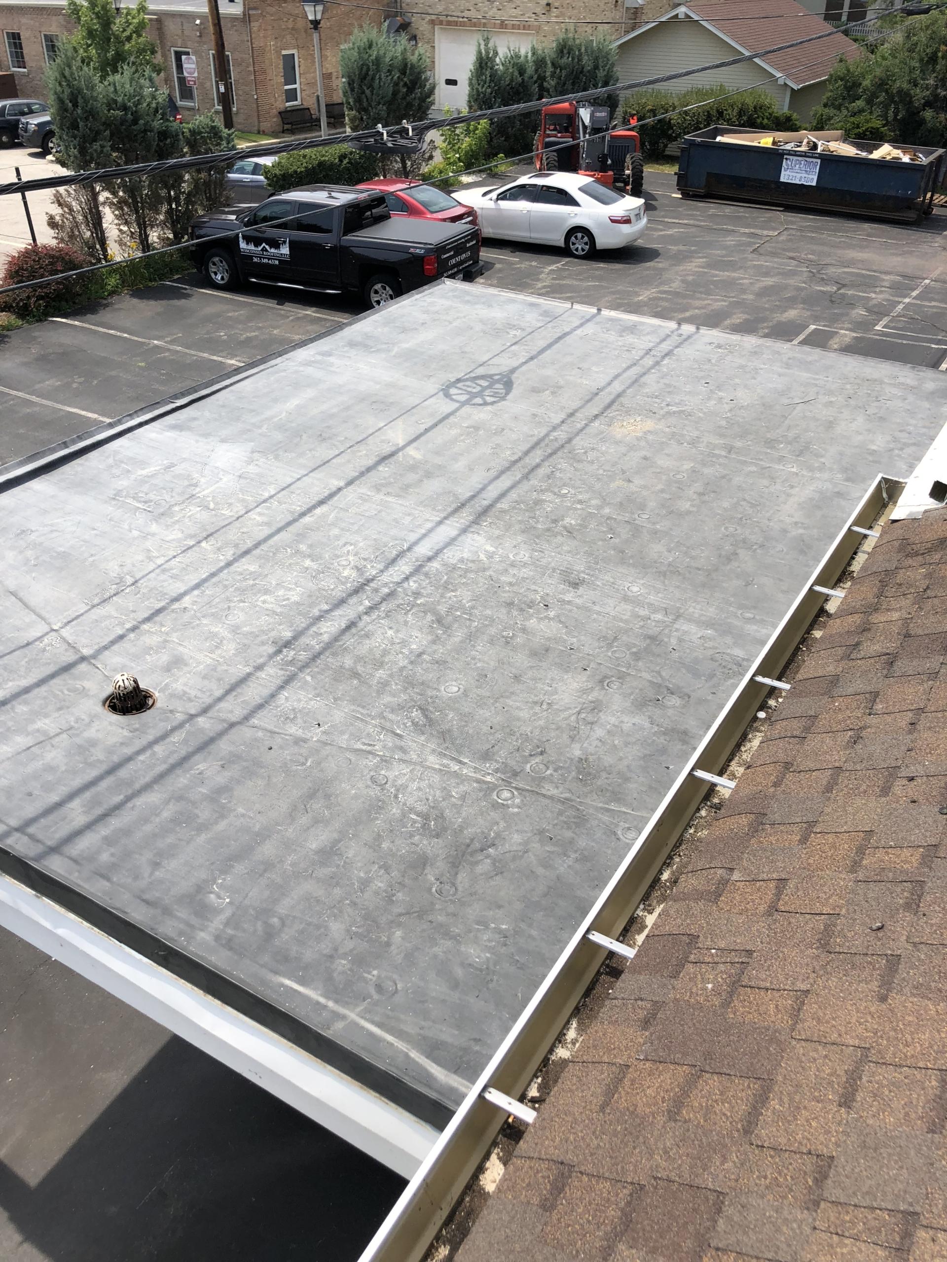 Wisconsin Roofing LLC | Flat Deck | Merton
