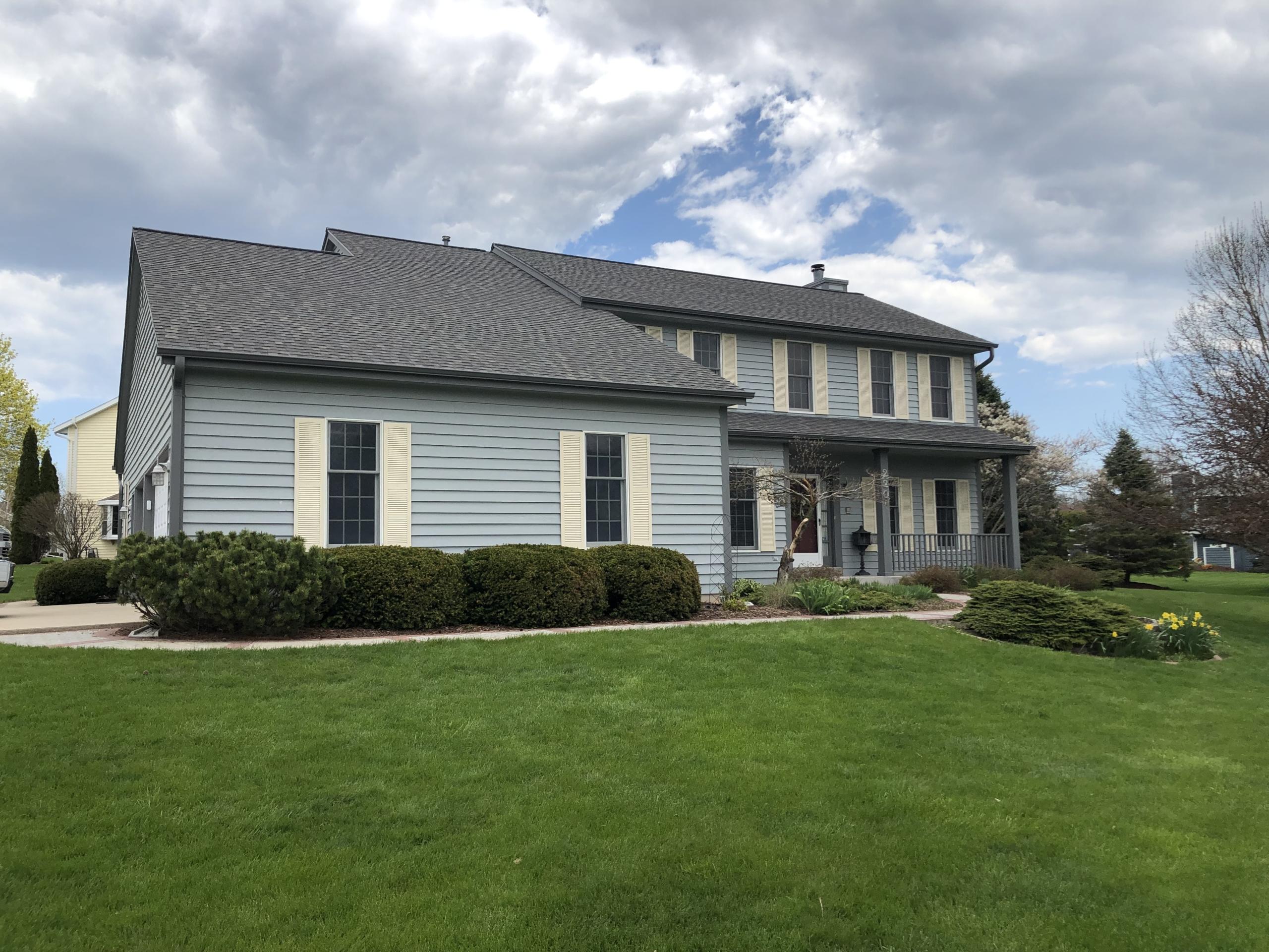 Wisconsin Roofing LLC | Sheboygan Falls WI | CertainTeed Landmark Driftwood | Re-roof | Gutters