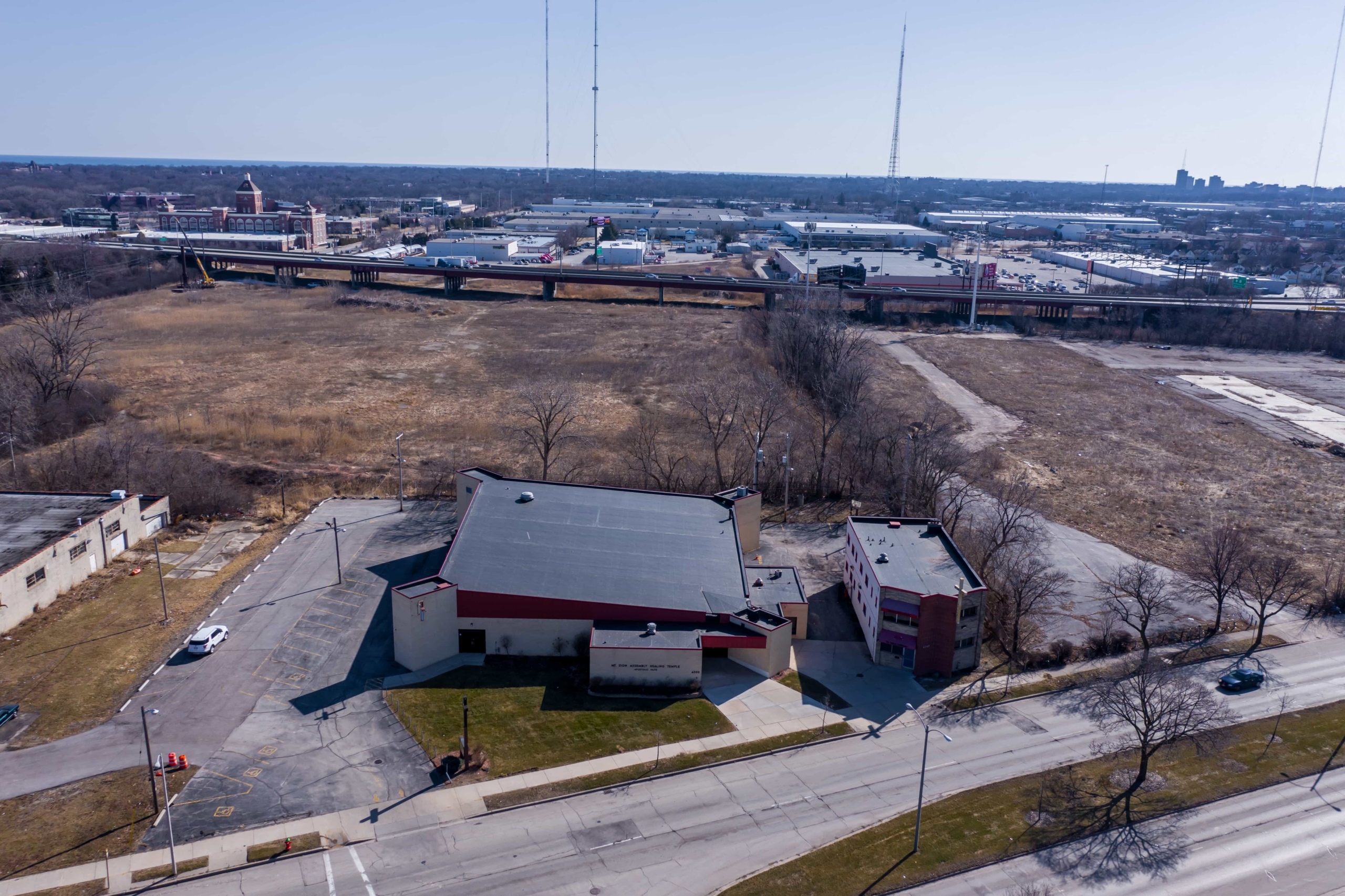 Wisconsin Roofing LLC | Drone | Commercial | Building Milwaukee